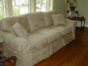 slipcover for a sofa